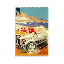 Antique 1936 Monaco Grand Prix Ra Rectangle Magnet