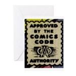 Comic Book Approved Greeting Cards (Pk of 10)