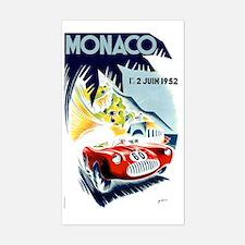 Antique 1952 Monaco Grand Prix Decal