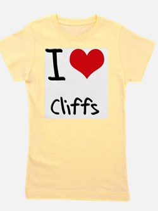 I love Cliffs Girl's Tee