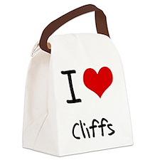 I love Cliffs Canvas Lunch Bag