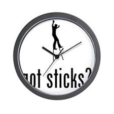 Walking-On-Long-Sticks-02-A Wall Clock