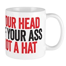 not a hat Mug