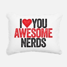 awesome nerds Rectangular Canvas Pillow