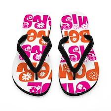 girl power Flip Flops