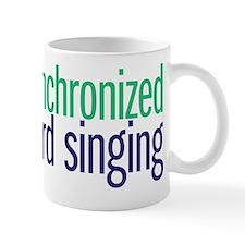 nerd singing Mug