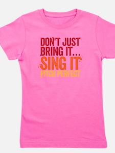 sing it Girl's Tee