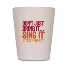 sing it Shot Glass