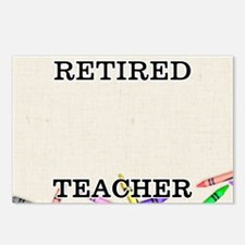 Retired Teacher Postcards (Package of 8)