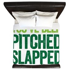 pitch slapped 2 King Duvet