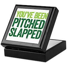 pitch slapped 2 Keepsake Box