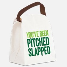 pitch slapped 2 Canvas Lunch Bag