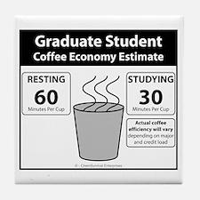 Coffee Economy Tile Coaster