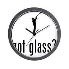 Glass-Making-02-A Wall Clock