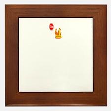Crossing-Guard-02-B Framed Tile