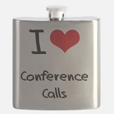 I love Conference Calls Flask