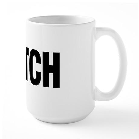 C-ATCH Paw Print Large Mug