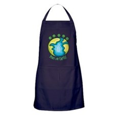 Peas on Earth Apron (dark)