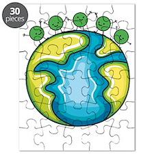 Peas on Earth (dark) Puzzle