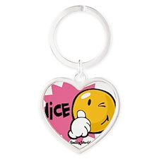 Nice Heart Keychain