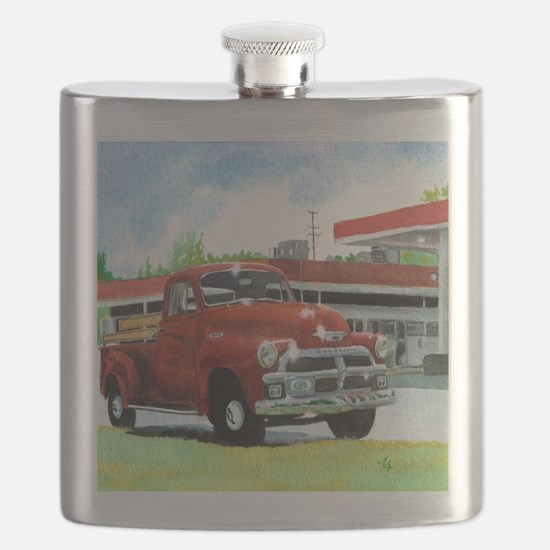 1954 Chevrolet Truck Flask