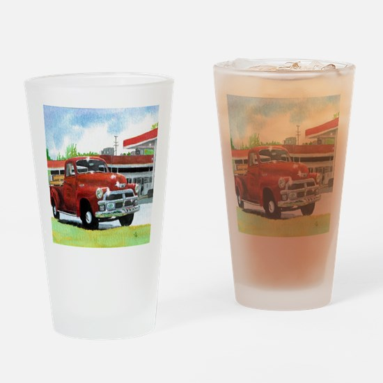 1954 Chevrolet Truck Drinking Glass