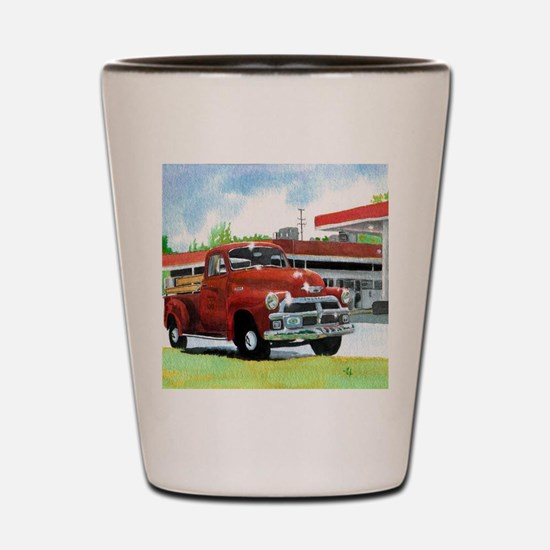 1954 Chevrolet Truck Shot Glass