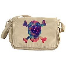 NEBULA SKULL Messenger Bag