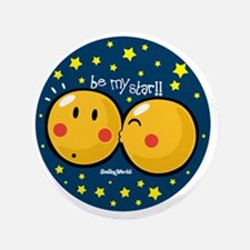 "be my star 3.5"" Button"