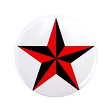 "Nautical Star 3.5"" Button"