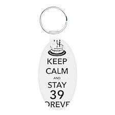 Keep Calm Stay 39 Keychains