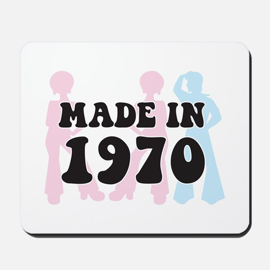 Made In 1970 Mousepad