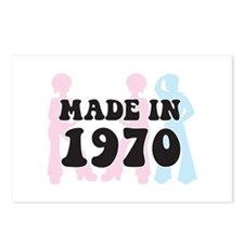 Made In 1970 Postcards (Package of 8)