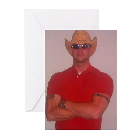 Hottest Men Of 2007 Greeting Cards (Pk of 10)