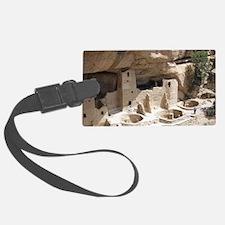 Mesa Verde Indian Cliff Dwelling Luggage Tag