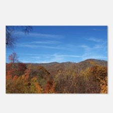 Fall Colors - NC / TN Mou Postcards (Package of 8)