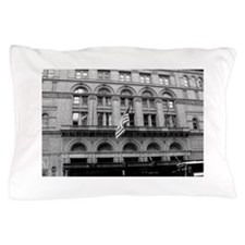 CarnegieBWHall1.png Pillow Case