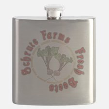 Schrute Farms Fresh Beets Flask