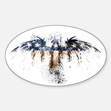 The Real American Eagle Sticker (Oval)