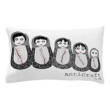 Zombie Baboushka Russian Dolls Pillow Case