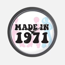 Made In 1971 Wall Clock