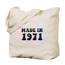 Made In 1971 Tote Bag