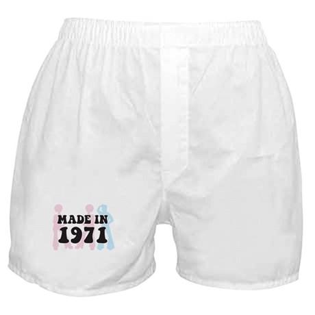 Made In 1971 Boxer Shorts
