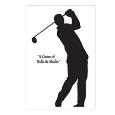 Game of Golf Postcards (Package of 8)