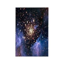 Starburst Cluster Celestial Firew Rectangle Magnet
