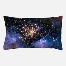 Starburst Cluster Celestial Fireworks Pillow Case