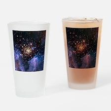Starburst Cluster Celestial Firewor Drinking Glass