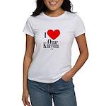 I Love Omar Khayyam Women's T-Shirt