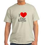 I Love Omar Khayyam Light T-Shirt