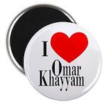 I Love Omar Khayyam Magnet
